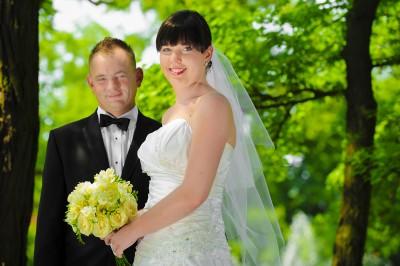 ślubne Zielona Góra plener zdjęcia